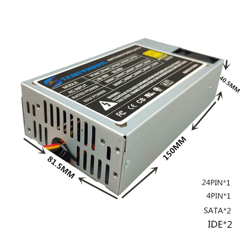 250W ITX Power SERVER POWER SUPPLY 250W 1U Flex ATX PSU 1U server power 24pin 12V PC Computer Power Supply Computer PC CPU new psu for xinhang flex itx k39 k35 s3 e200 small 1u rated 350w peak 400w power supply xh 3501psu fsp270 60le fsp250 50gub