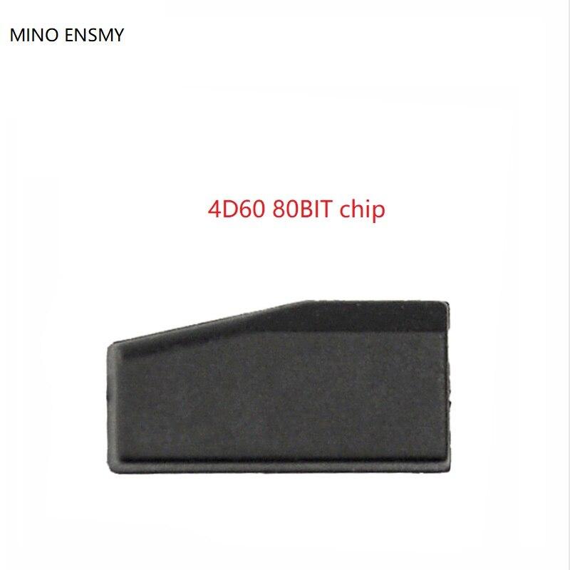 transponder chip 4D70 ID60 80Bit Car Key Chip, New blank 4D60 80Bit TP06 Pg1 FF Chip Carbon