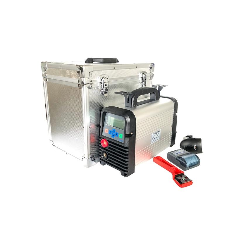 Máquina de soldadura por electrofusión para conexiones de tuberías de polietileno (alta y baja presión) con un diámetro de 20 a 315 mm