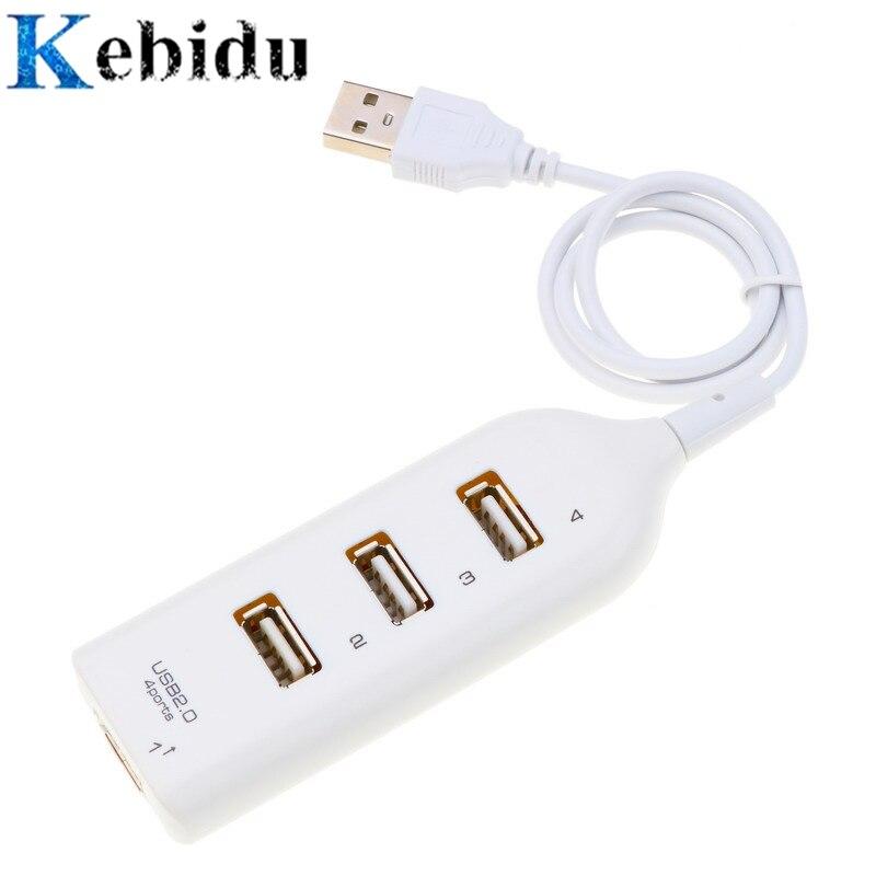 HUB USB de 4 puertos 2,0 alimentador para encendedor de cigarrillos adaptador de alta velocidad del coche adaptador divisor de conector hembra con Cable periférico de la computadora