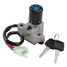 NICECNC interrupteur dallumage Suzuki   Clés pour Suzuki GSF RF 400 GSX 600 750 900 1100 750 GSXR 1100 500 GS VX800 GSX 600F 750F