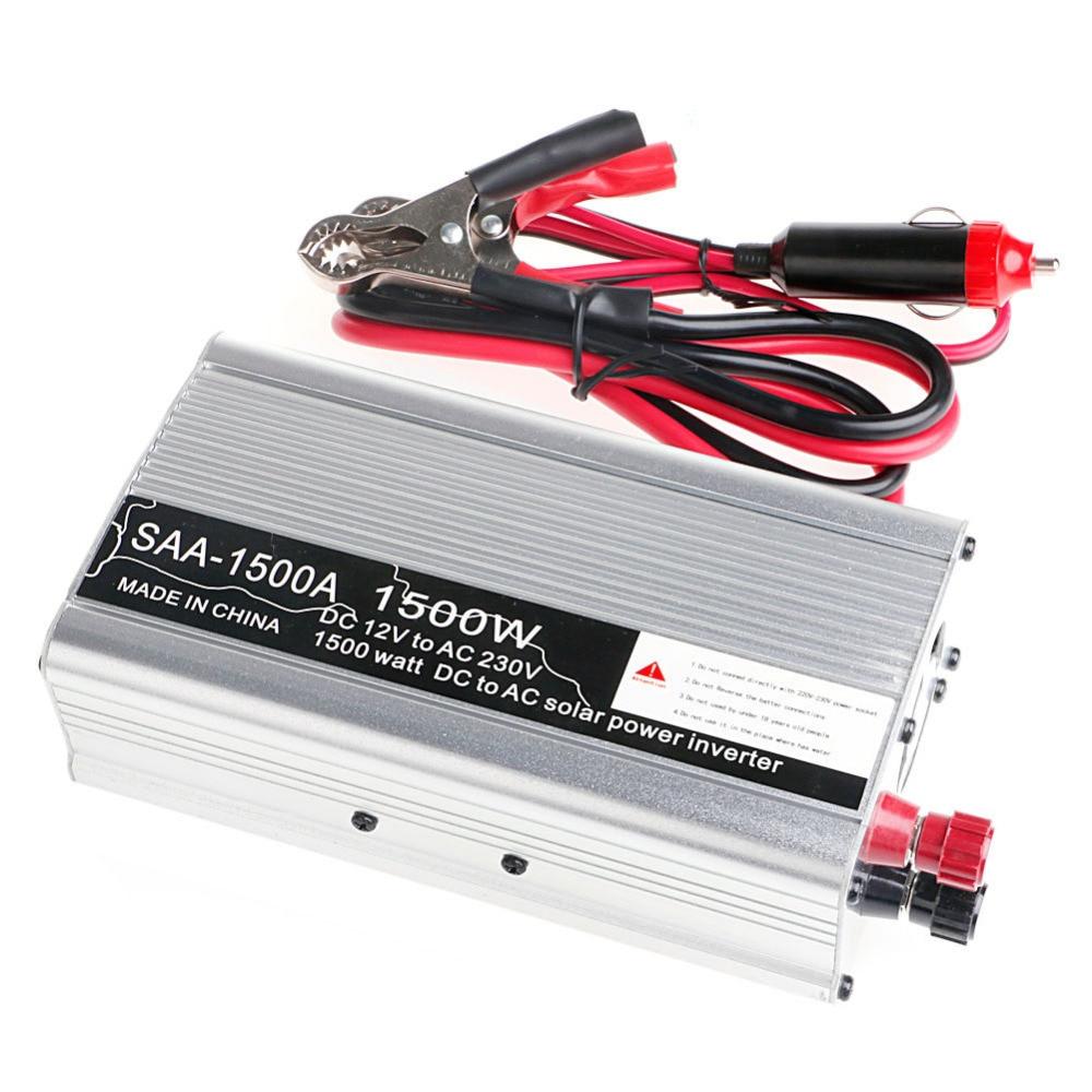 Nuevo 3000W pico DC12V a AC 230V convertidor inversor de energía Solar USB salida Stabl L15