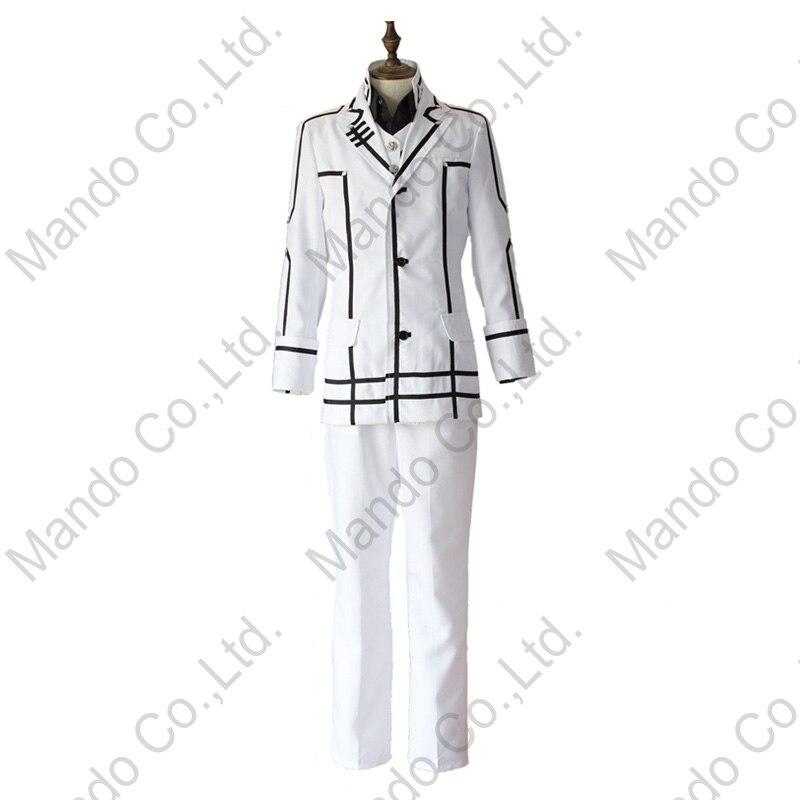 Anime vampiro Knight Kuran Kaname Cosplay disfraces hombres traje de uniforme de Halloween Cosplay partido traje