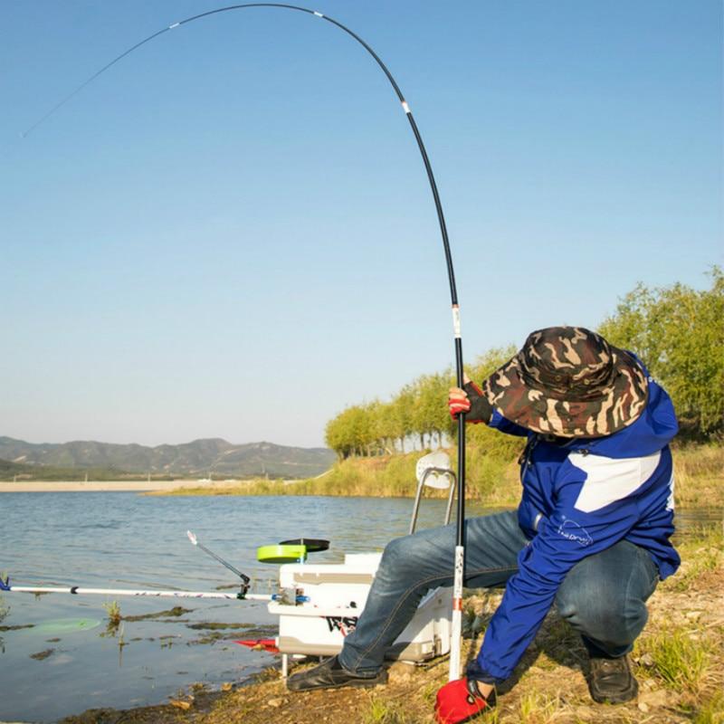 8.1m 10m Power Hand Rod Ultra-light and 5H Super-hard Taiwan Fishing Pole 28-tuning Hand Pole Oltas Fishing Tackle Vara De Pesca enlarge