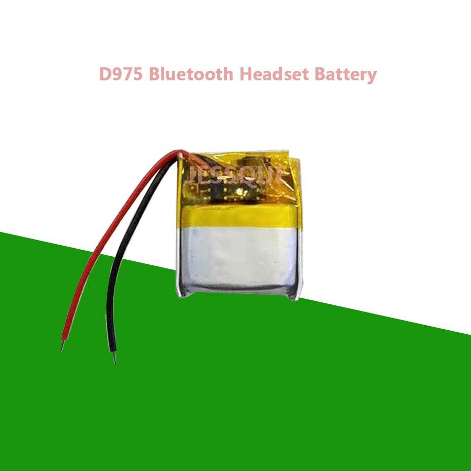 Batería de repuesto de 120mAh para Plantronics D975 975, acumulador de batería para auriculares Auriculares inalámbricos con Bluetooth AKKU
