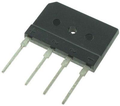 1 pçs 25a 1000v diode ponte retificador gbj2510 zip em estoque