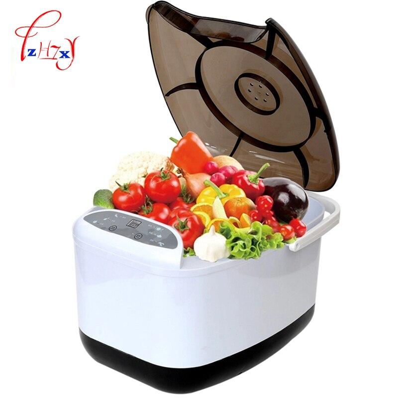 Mini máquina de lavar roupa do agregado familiar máquina de legumes frutas vegetais arruelas 4.5l máquina de lavar vegetal fácil de usar rz06a 1pc