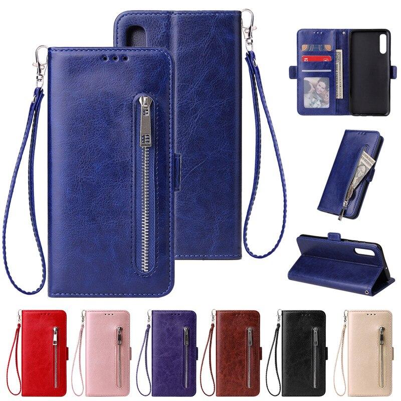 Wallet A51 A71 A70 A50 A40 A30 A20 A10 S Case For Samsung M30 M20 M10 A6 A7 A8 2018 A5 A3 2017 Zippe