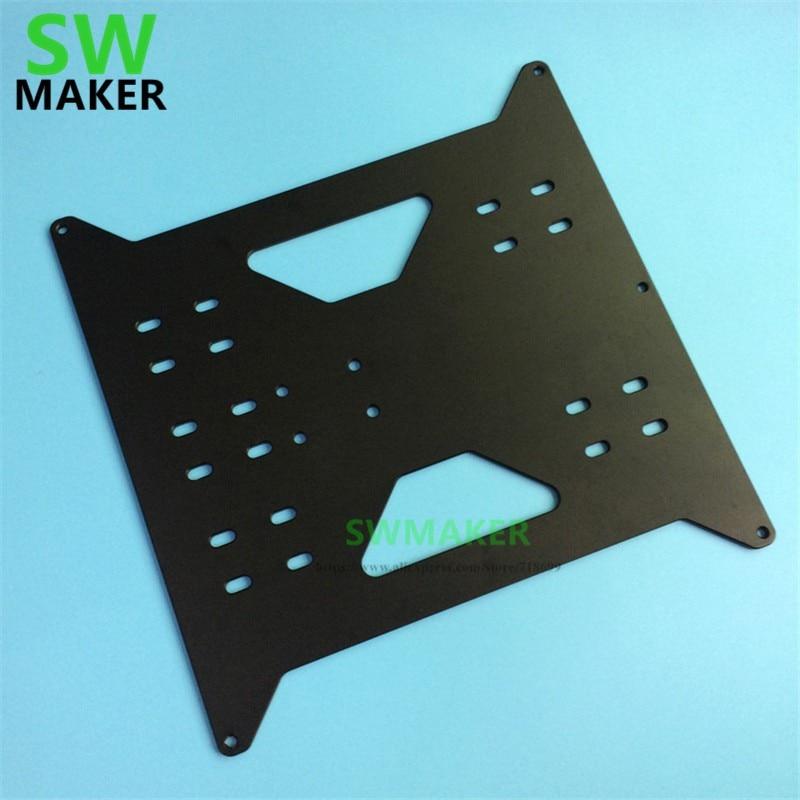 ترقية Y النقل لوحة اللون الأسود ل وانهاو الناسخ i3/أحادي صانع حدد V1/V2/V2.1/Plus طابعة ثلاثية الأبعاد