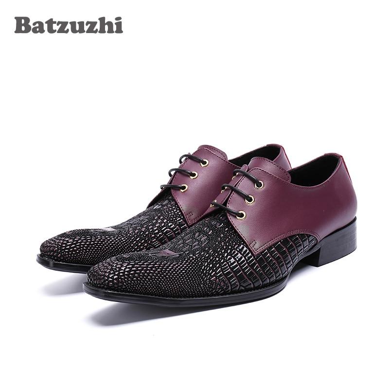 Luxus Mens Kleid Schuhe Rock Leder Hochzeit Italienische Mode Männlichen Schuhe Kleine Karree Hübsche Party und Business Schuhe Männer