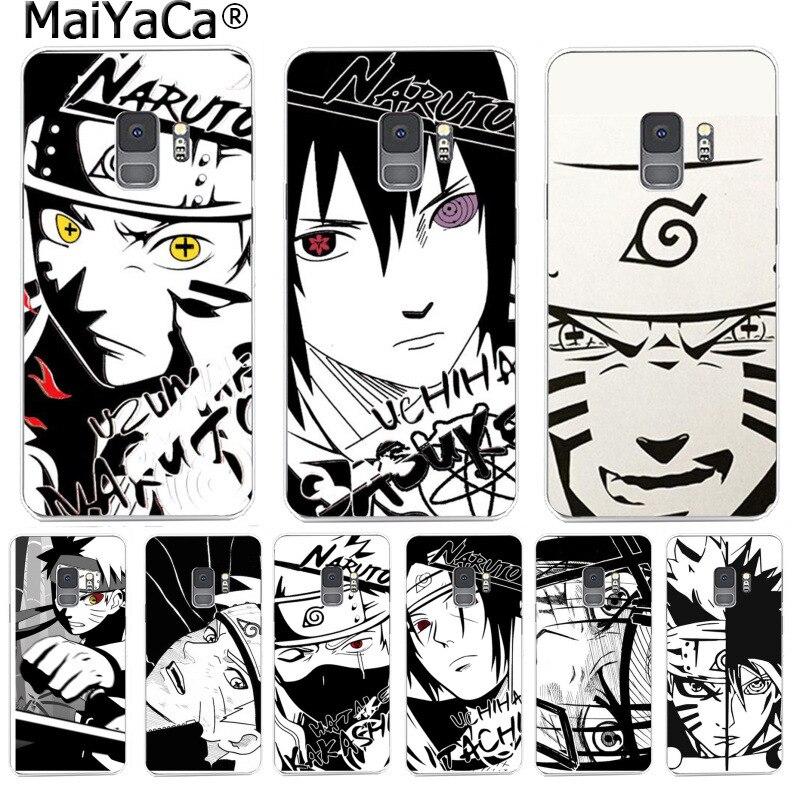 MaiYaCa moda Japón dibujo animado Naruto Linda funda de teléfono para Samsung S9 S9 plus S5 S6 S6edge S6plus S7 S7edge S8 S8plus
