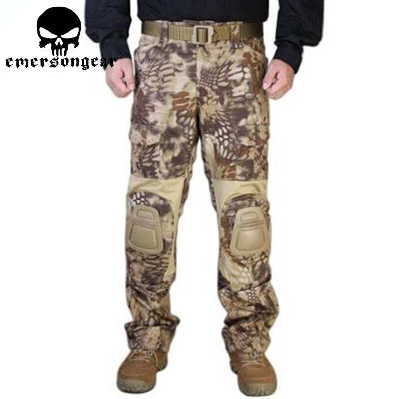 HLD السيد إيمرسون G2 التكتيكية السراويل مع منصات الركبة الادسنس إيمرسون gen2 القتالية التدريب العسكرية السراويل EM7038