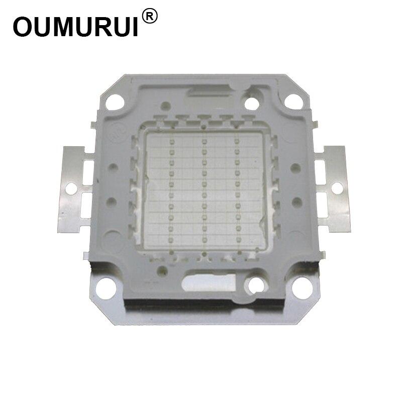 Bombilla LED cob azul de 10 W/20 W/30 W/50 W/100 W, Bombilla de gran potencia, módulo azul 460-465nm, foco 30mil 5 uds, Envío Gratis