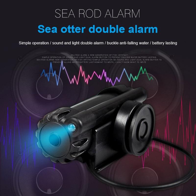 45*14*15 Mm Draagbare Vissen Bite Alarm Alert Audio Visuele Signalen Voor Hengel Vis Lijn Aanpakken tool ALS88