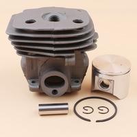 47mm Cylinder Head Piston Kit For HUSQVARNA 359 357 XP 357XP Chainsaw Engine Motor Parts 537 15 73-02