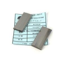 Power Feed Contact Tungsten Carbide 41*18*5.2mm Mitsubishi Machine Parts