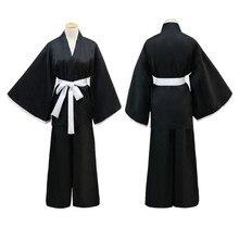 Japanischen Anime Tod Ichigo Kurosaki Kuchiki Rukia Cosplay Hohe Qualität Robe Mantel Japanischen Anime Cosplay Halloween Kostüm