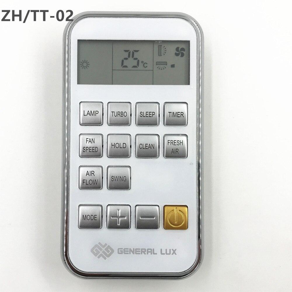 Новый оригинальный AC пульт дистанционного управления ZH/TT-02 ZH TT-02 для CHIGO/YORK/GENERAL LUX/ZANUSSI кондиционер совместимый ZH/TT-04