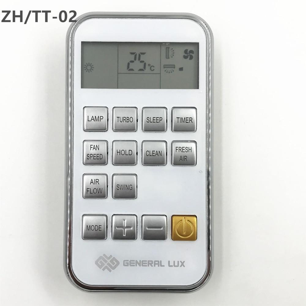 Nova placa Original do AC Controle Remoto ZH/TT-02 TT-02 Para CHIGO ZH/YORK/GENERAL LUX/ZANUSSI Ar Condicionado Compatível ZH/TT-04