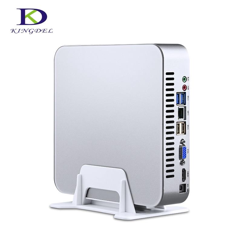 Tarjeta dedicada con 4G 2G Mini PC Intel Quad Core i7 4th Gen 4700HQ Mini ordenador Intel HD Graphics 4600 16G RAM 512G SSD HTPC