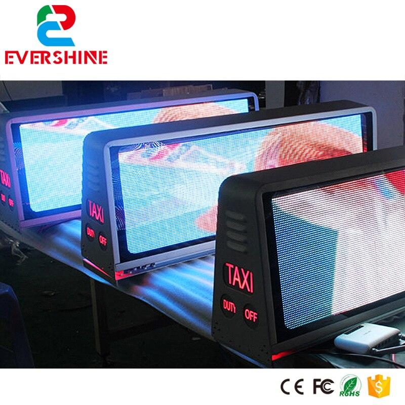 Signe de toit de Taxi P5 Double face avec 3G, GPS ou USB LED écran à LED étanche de dessus de Taxi pour la publicité vidéo extérieure mieux choisir