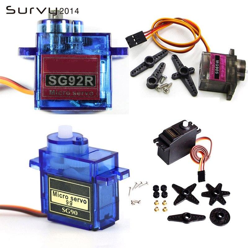 Rc Mini Micro 9g 1,6 кг сервопривод SG90 MG90S MG995 MG99