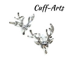 Cufflinks for Men Stags head Cufflinks Mens Cuff Jewelry Mens Gifts Vintage Cufflinks by Cuffarts C1