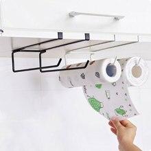 Étagère de porte-serviette en papier   Porte-serviettes en papier, porte-serviette de cuisine, support suspendu pour la salle de bain, les toilettes, étagère en fer, support de rangement pour la maison