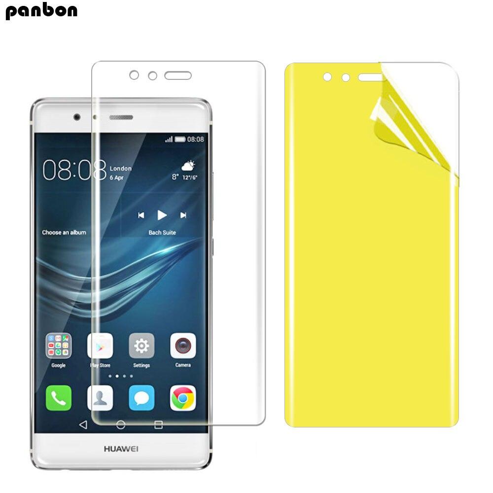 Película suave de TPU Nano hidrogel para Huawei P30 Pro P20 P9 lite P10 lite Plus Protector de pantalla película de cubierta completa no de vidrio