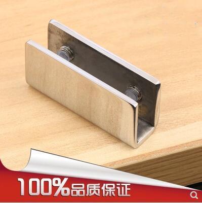 Стеклянный фиксирующий Зажим, стеклянный фиксирующий Зажим, стеклянный шарнир, стеклянный зажим из нержавеющей стали (GC-02)