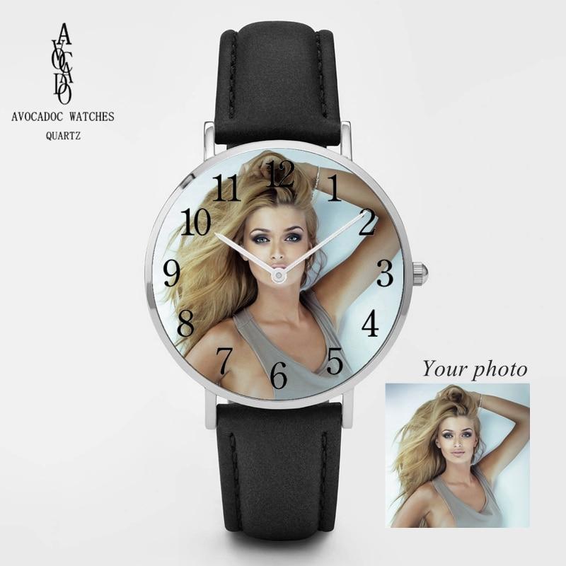 Дизайнерские наручные часы с логотипом на заказ, наручные часы с фотографией, индивидуальный уникальный подарок «сделай сам», серебристый, ...