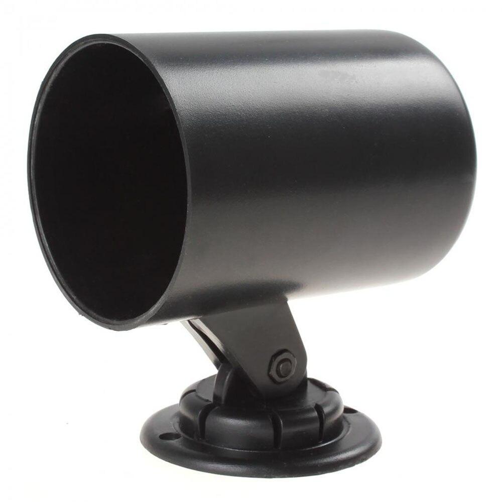 Автомобильный манометр SEKINEW 52 мм 2 дюйма, держатель для стакана, черный Универсальный пластиковый автомобильный адаптер