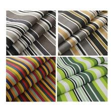 Cotton canvas fabric cotton striped fabric curtain fabric   Tablecloth fabric