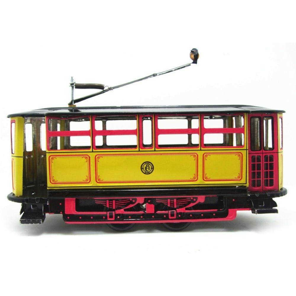 M89tro cuerda Tram Bus Cable relojería juguete de tranvía Vintage colección regalo chico