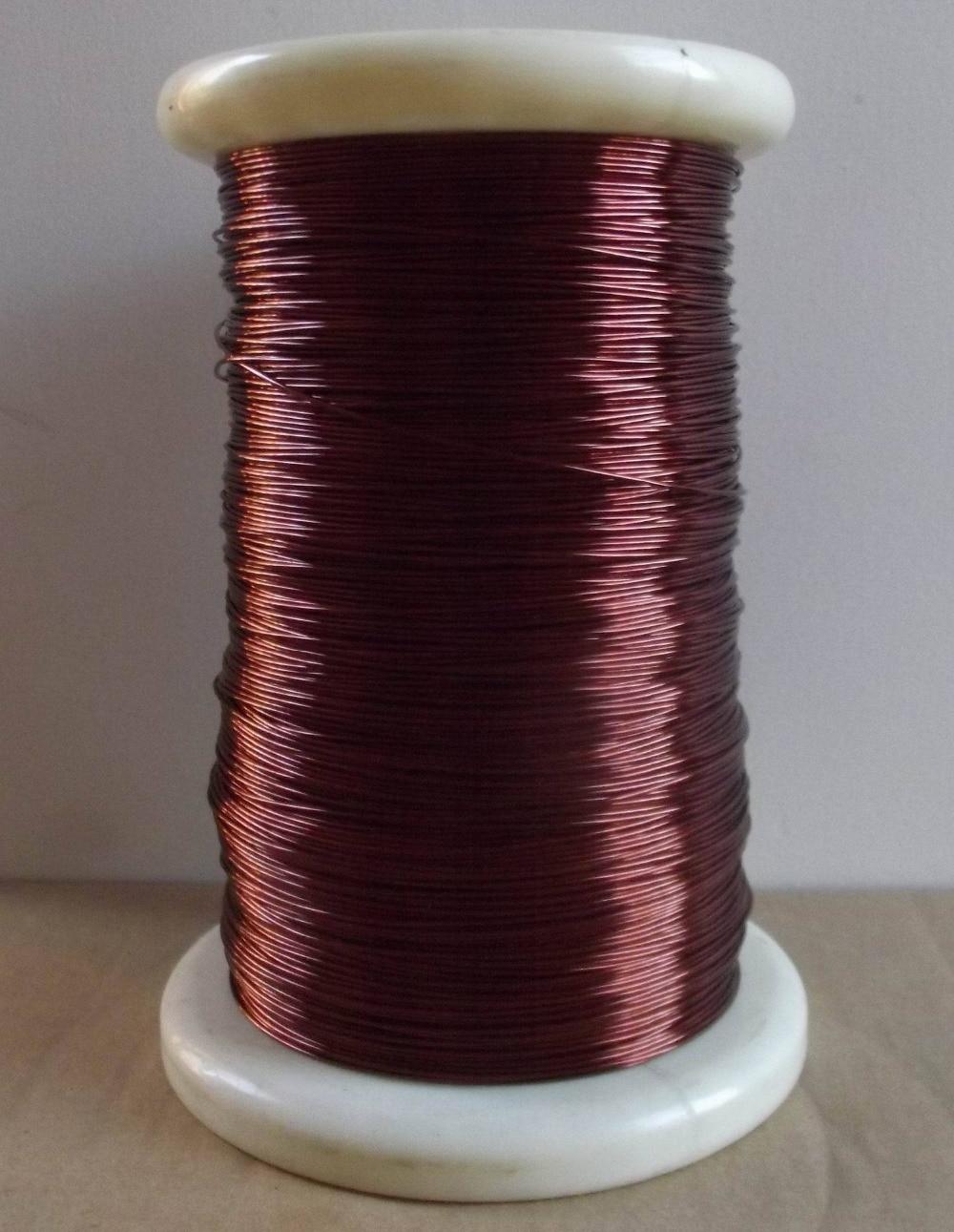 0,8 мм 50 м красный Магнитный провод эмалированная медная проволока магнитная катушка обмотки DIY все размеры в наличии