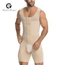 Minifaceminigirl Compression vêtements Fajas Colombianas Para Hombre body Shapewear chemise ceinture pour hommes Shaper liposuccion
