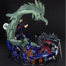Anime Naruto Shippuden Susanoo Uchiha Madara Wood Dragon Senju Hashirama pcv figurka-model kolekcjonerski zabawki na prezent