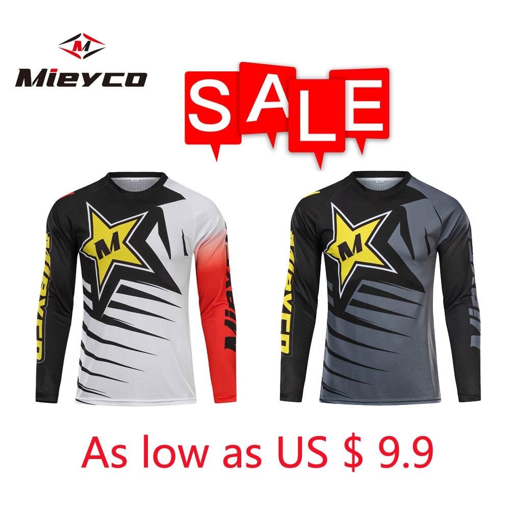Mieyco hombres Pro crossmax camiseta para moto ropa para bicicleta de montaña MTB bicicleta camiseta DH MX ciclismo camisas Offroad Cruz moto Cruz desgaste