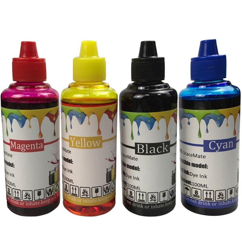 Kit de recarga de tinta Universal de 400ML, 129 134 para impresora hp DeskJet 5940 5943 6940 6943 6983 Photosmart 2570 2573 8000 CISS, tinta de impresora