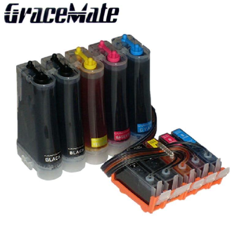 Sistema de tinta para canon pgi 550 cli 551 ciss 550 551 para canon ip7250 mg5450 mx725 mx925 mg5550 ix6850 completo de impressora de tinta com o chip