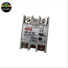 2 шт./лот запасные части для струйного принтера реле SSR-10 DA для ICONTEK crystaljet wit color allwin gongzheng flora струйный принтер