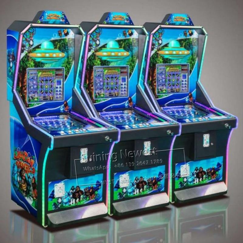 NYST Suining 2019 nuevo diseño África Parque de Atracciones equipo Token operado por monedas máquina Pinball