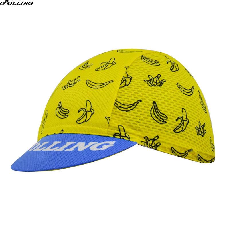 Gorra de ciclismo profesional de nuevo equipo, clásica Banana amarilla 2018, para ciclismo de montaña o de carretera