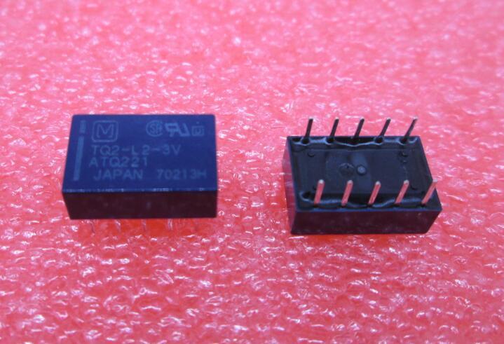 Nowy przekaźnik TQ2-L2-3V ATQ221 TQ2-L2 TQ2L23V TQ2 3 V 3VDC DC3V DIP10