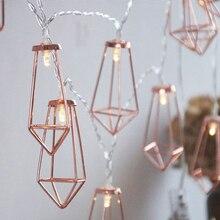 5m 10m led night light Iron art diamond Outdoor warm white LED String Lights Christmas Lights Holiday Wedding party decoration
