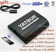 Yatour YTBTA Bluetooth handsfree Telefoongesprek voor Smart 450 Lancia Lybra Fiat Brava Marea 8-Pin Auto adapter
