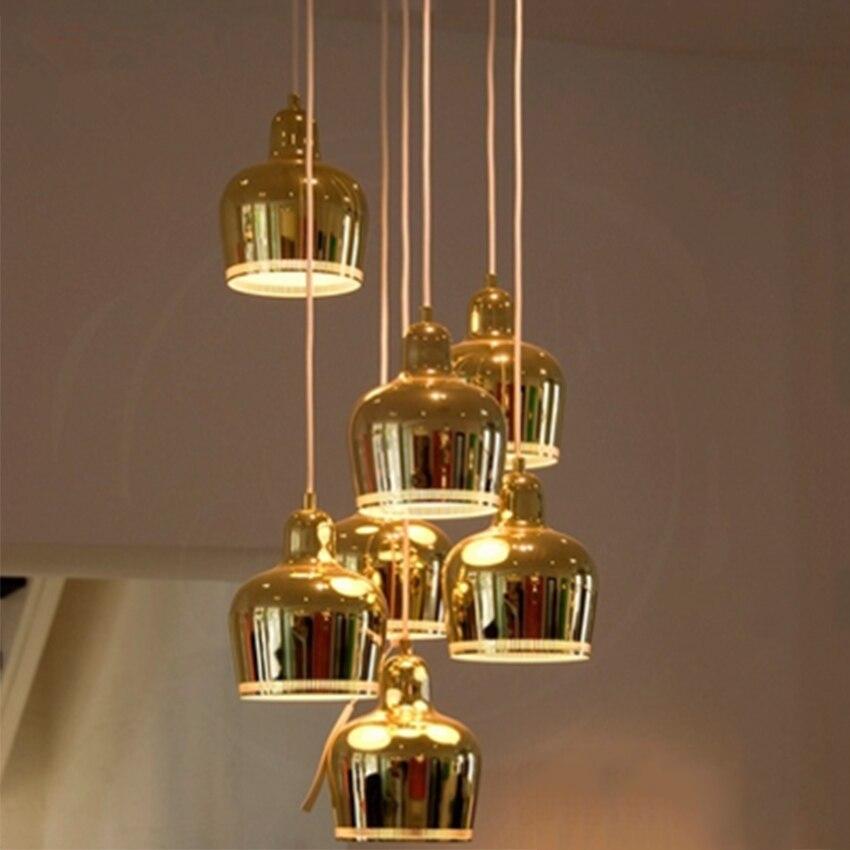 Lámpara colgante Led de hierro Post-moderna, lámpara colgante para sala de estar, restaurante, decoración, accesorios de cocina, Luminaria de iluminación