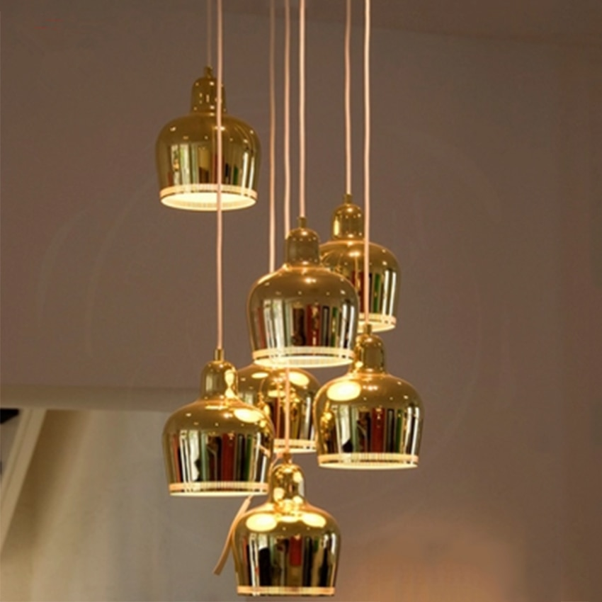 Post-modern Led Iron Light Pendant Lamp Living Room Restaurant Decor Hanging Lamp Kitchen Fixtures Lighting Luminaire Luminaria