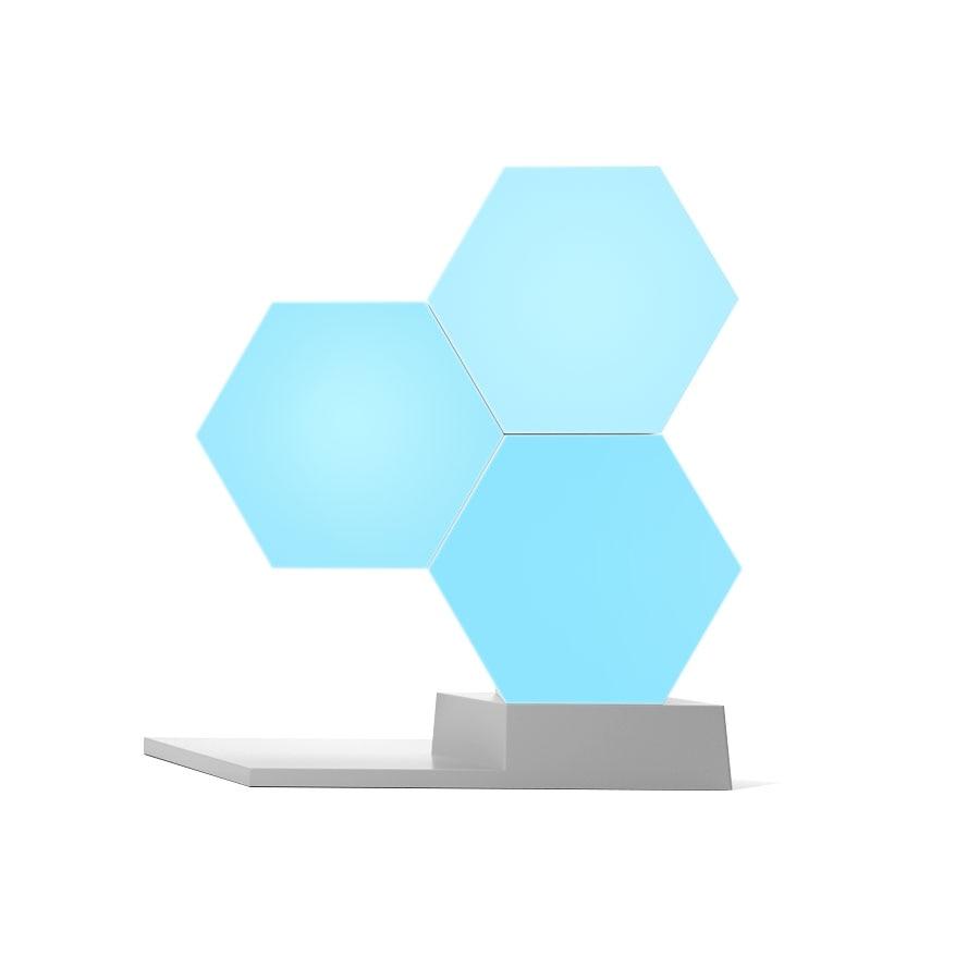Lifesmart diy quantum night light geometria conjunto usb lâmpada noite inteligente app controle de voz para a casa do google amazon alexa lâmpada
