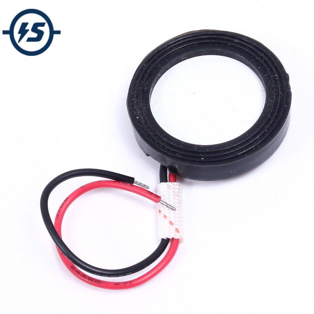 Humidificador con Sensor piezoeléctrico ultrasónico de 5 uds., atomizador cerámico, fabricante de vaporizadores, accesorios de transductor 1,70 MHz D25mm 25mm